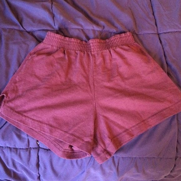 Little Soffee shorts xsmall FREE w/$13+ Purchase!! Eagle brand maroon Soffee shorts in good worn condition size xsmall Eagle Shorts