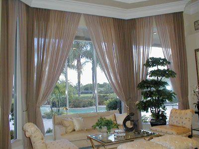 Window Treatments For Large Windows Living Room Window