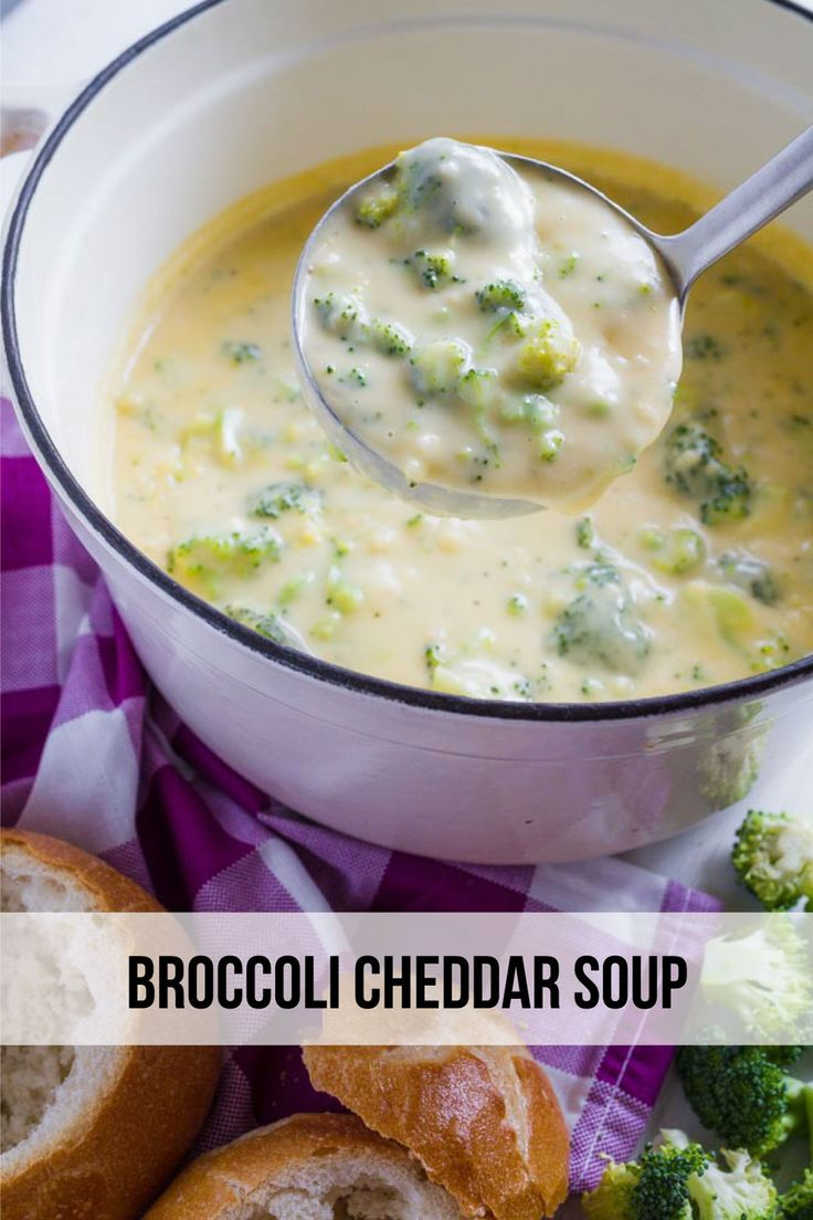 Broccoli Cheddar Soup - a delicious recipe to try out that will warm you right up! This one is perfect for the winter and oh so good.