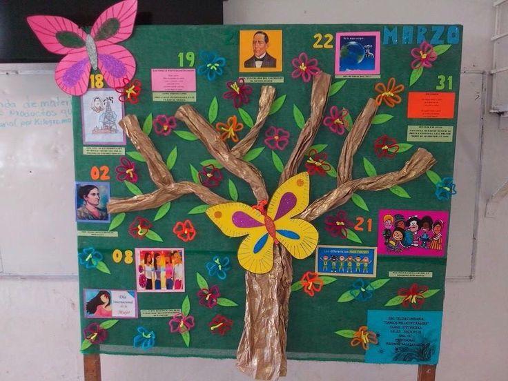 Las 25 mejores ideas sobre periodico mural marzo en for El mural periodico guadalajara