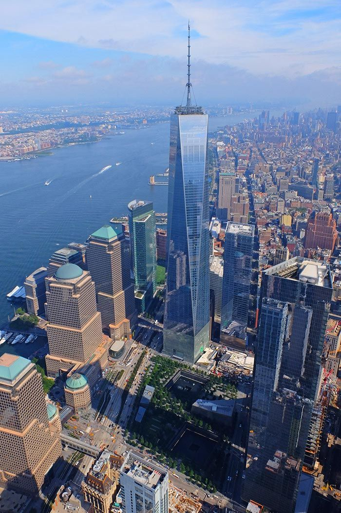 One World Trade Center, Manhattan, New York City, …
