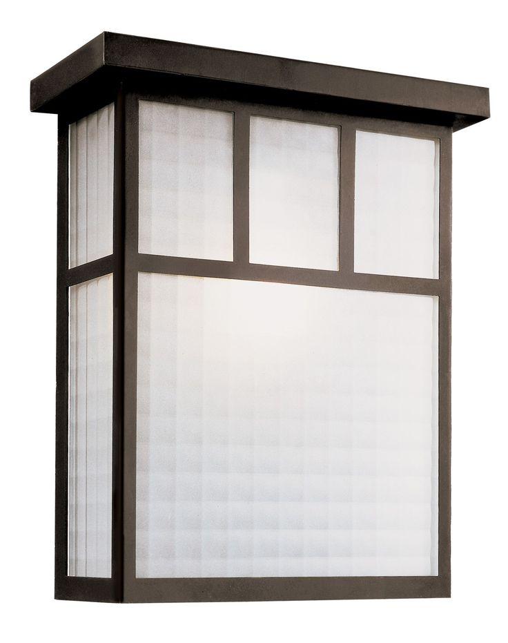 Garden Box 2-Light Outdoor Flush Mount