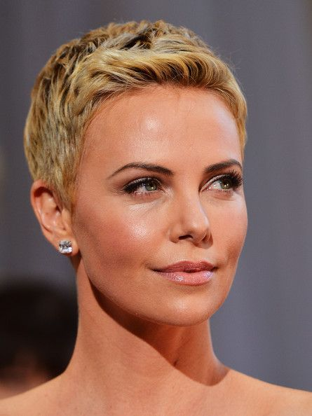Charlize Theron Hair Cute Pinterest Caras
