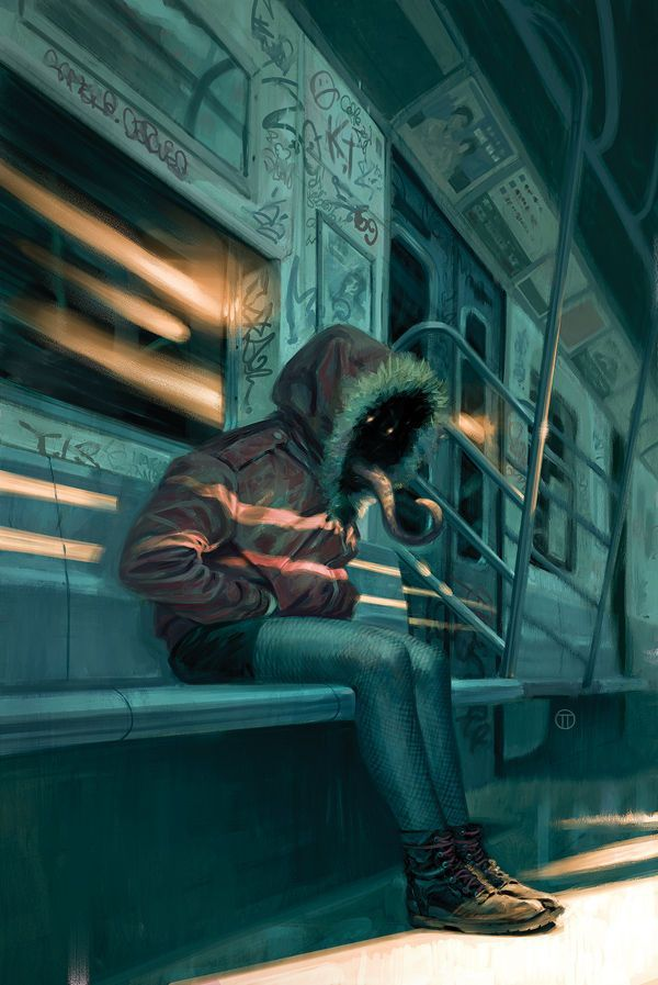 CREEPY COMICS #21 Cover art by Julian Totino Tede…
