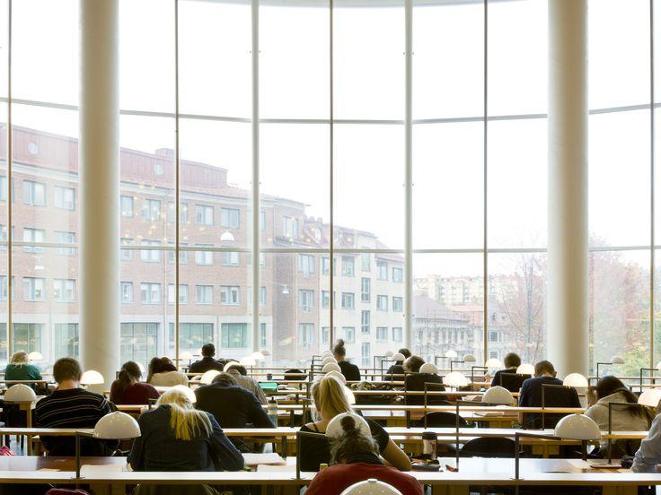 Handelshögskolan, Göteborg. Färdig 1995. Fotograf: Ola Kjelbye