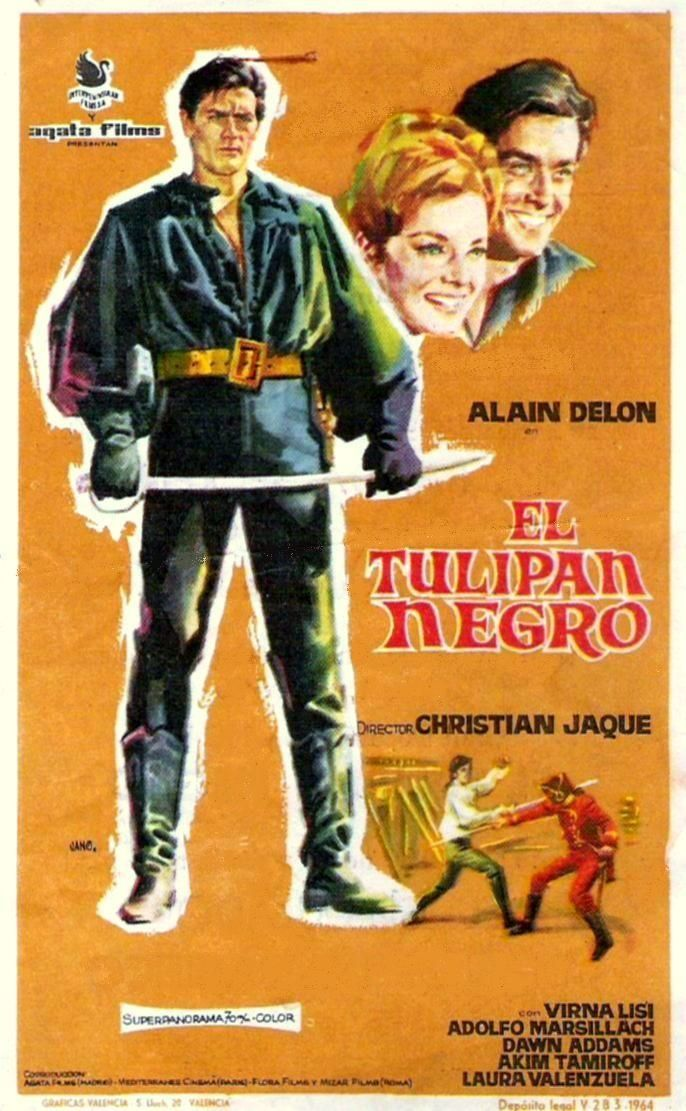 "El tulipan negro (1964) ""La tulipe noire"" de Christian-Jaque - tt0058692"