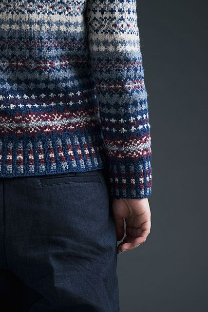 Ravelry: First Fair Isle pattern by yu co