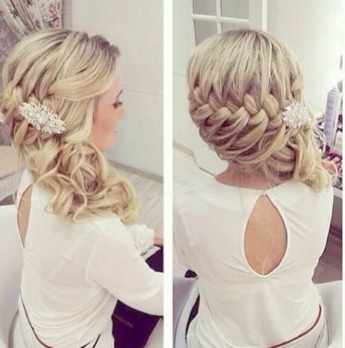 Hairstyle Short Hair Wedding Hairstyles on Weddingwire Couples Choice Awards All the best hairstyle hairstyles for women behind wedding hairstyle ...