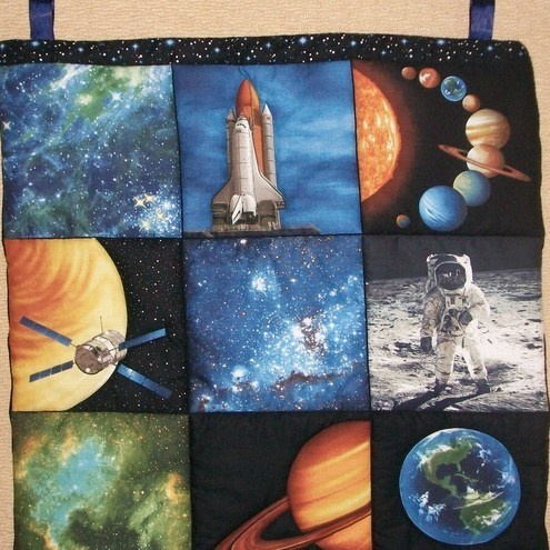 28 best space quilt ideas images on pinterest cosmos for Space shuttle quilt