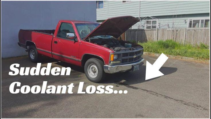 1994 Chevy C/1500 Sudden Coolant/Antifreeze Leak Solved