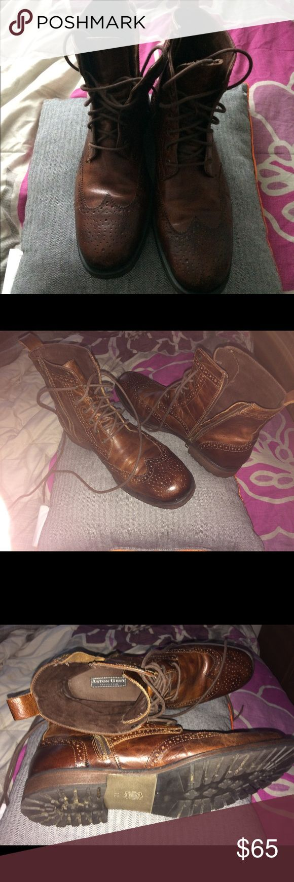 Aston grey collection boots Aston grey used great condition. Offers accepted aston grey Shoes Boots