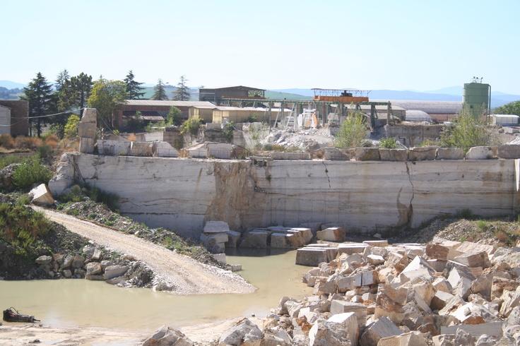 Capanni's Cave in Serre di Rapolano.