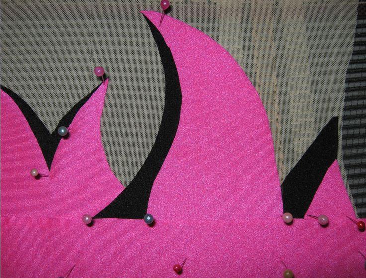 Заметки в лоскутках: Купальник для художественной гимнастики.