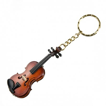 Breloczek z miniaturką skrzypiec