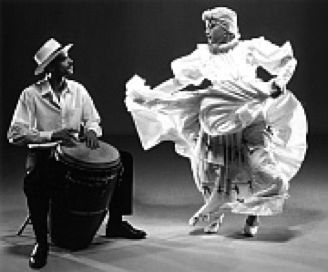 Bomba-A Puertorican folklore tradition.