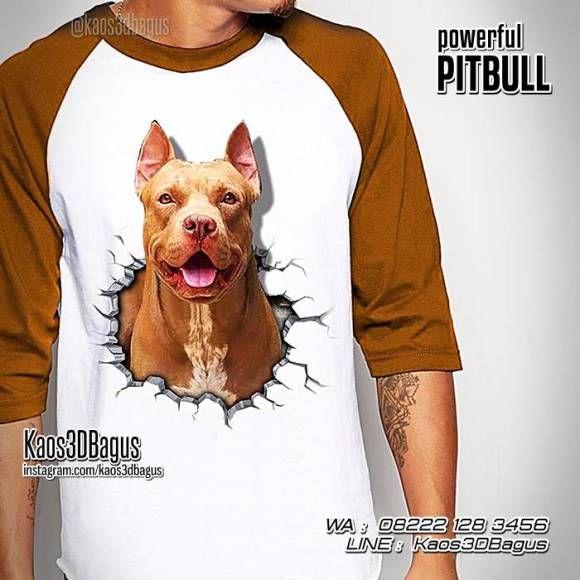 Kaos PITBULL, Kaos ANJING PITBULL, Kaos Dog Lover, Kaos Gambar Anjing, Kaos Pecinta Anjing, WA : 08222 128 3456, LINE : Kaos3DBagus, https://kaos3dbagus.wordpress.com/2016/04/18/kaos-gambar-anjing-3d-rottweiler-pug-golden-retriever-pitbull-bulldog-boxer-husky-herder-beagle-collie-kaos-3d-dog-lover/