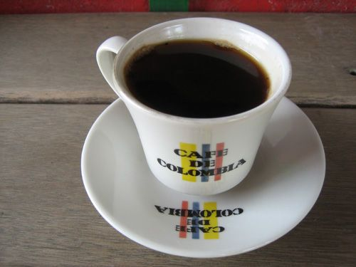#Cafe de #Colombia. Typical coffee cup. For My handmade greeting cards visit me at My Personal blog: http://stampingwithbibiana.blogspot.com/