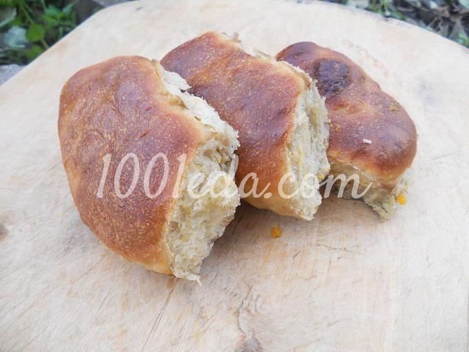 Постные дрожжевые пирожки с тыквой: рецепт с пошаговым фото