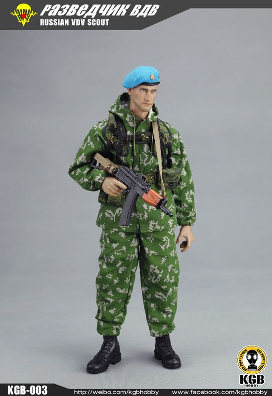 KGB Hobby:1/6 Russian VDV Scout sets KGB-003 | 1/6 action ...