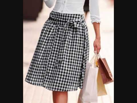 5ab6dc9e8 La moda de faldas, diseños sensacionales para lucir elegantes ...