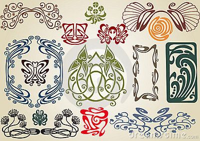Collect Art Nouveau - Download From Over 27 Million High Quality Stock Photos, Images, Vectors. Sign up for FREE today. Image: 14473280