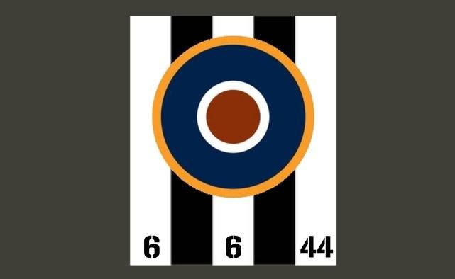 Chad in the United States made this design using the RAF roundel and D-Day Stripes as the background. We love it.   Chad's website is at > http://ghqhomeforces.com/