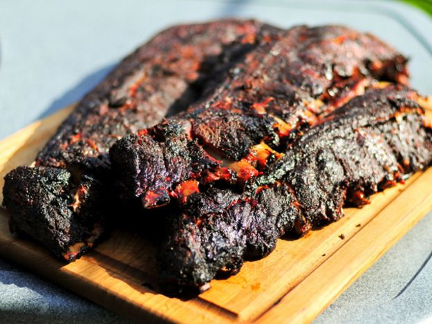 """The official start of the outdoor cooking season calls for some classics, and I can't think of anything better than these Dr. Pepper ribs. My most favorite of soft drinks served as the base of this sauce, which offers a tang and depth that will have everyone asking, """"what's in this?!"""""""