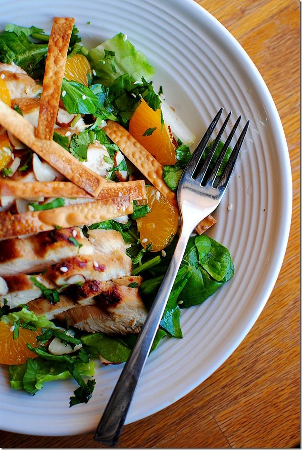 Copycat Panera Asian Sesame Chicken Salad...*ANDREA, THIS IS AWESOME! I'M ADDICTED TO THIS SALAD!**  Thank you, Babycakes!