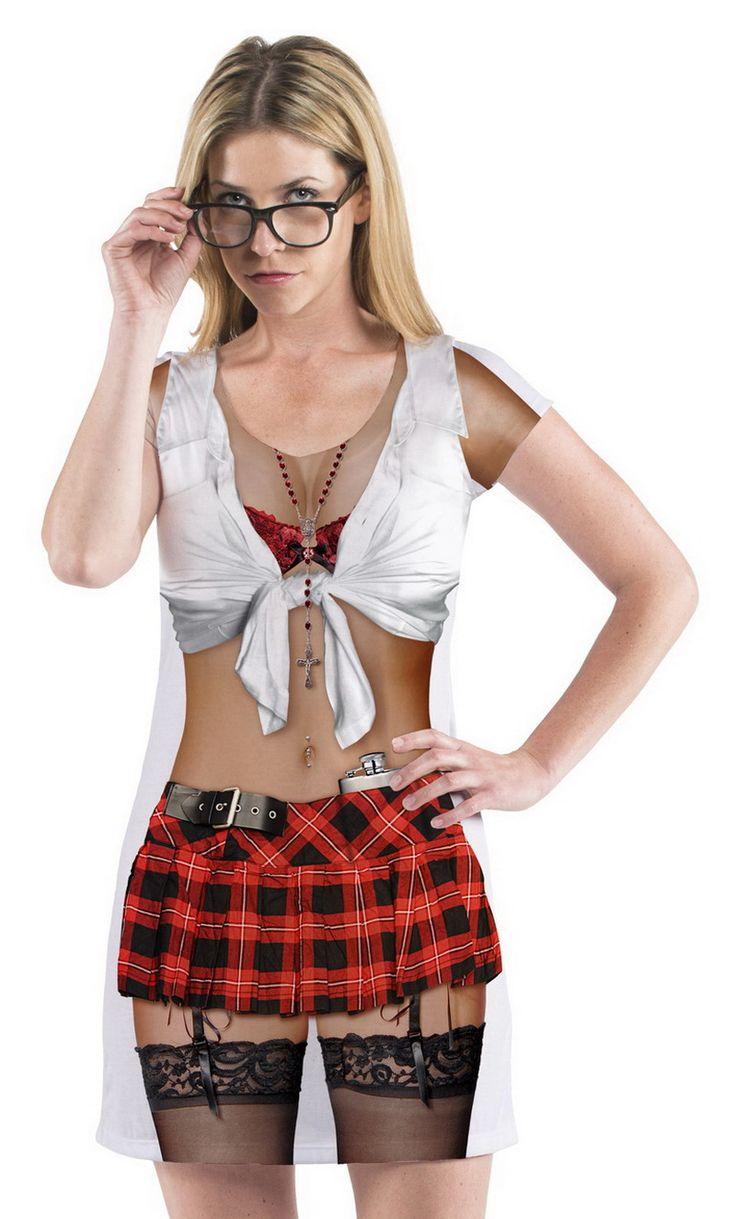 Opentip.com: Faux Real F122159 Catholic School Girl Costume