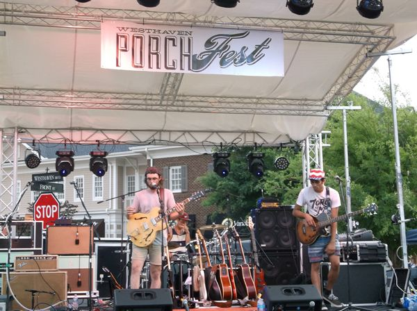 """Westhaven Porchfest hosts dozens of musical acts on """"Porch Stages"""" - Brentwood Home Page"""