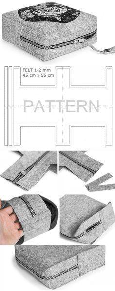 Como costurar cômodas confortáveis e bonitas. Tutorial DIY www.ha …   – کیف چرم