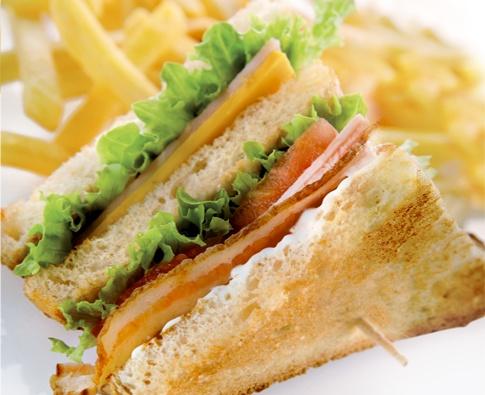 Menu   Goody's club sandwich