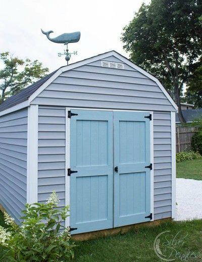 Coastal Nautical Garden She Shed House Tours Tiny Houses And Coastal