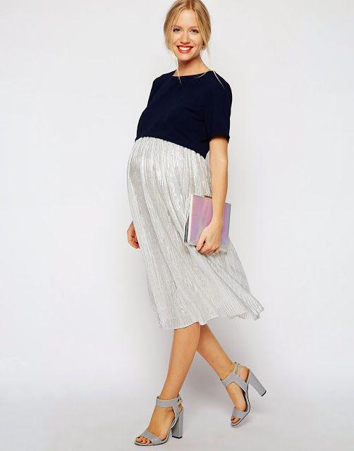 Vestidos de moda para embarazadas | Especial vestidos cortos