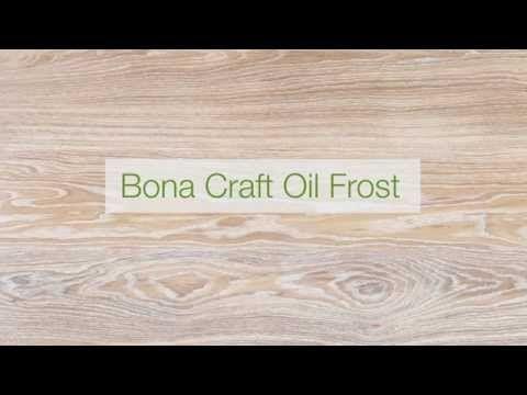 Bona Craft Oil Frost - uw houten vloer in de olie zetten - lichte uitstraling van uw vloer.