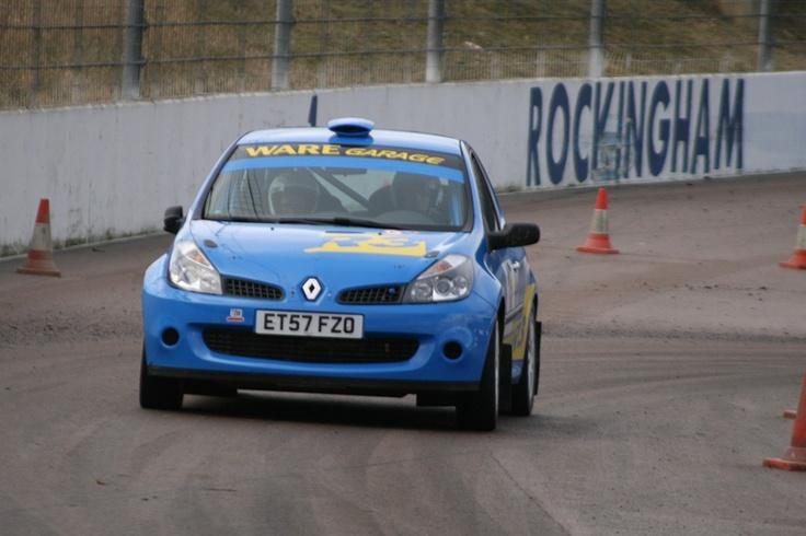 Rockingham Stages 2012.  Renault Clio R3