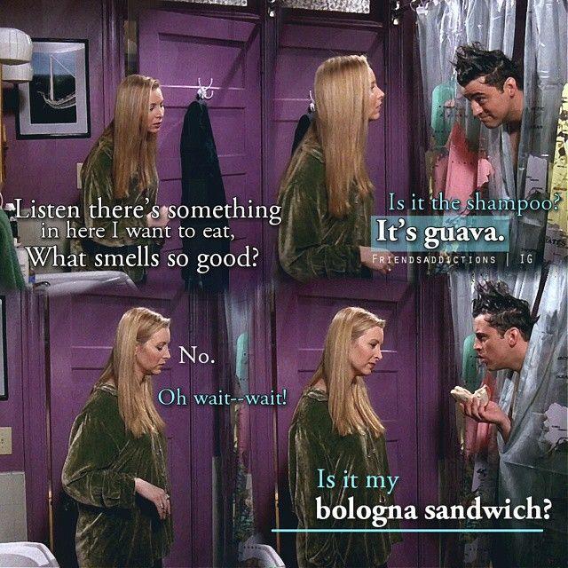 Is it my bologna sandwich? #Joey #FRIENDS