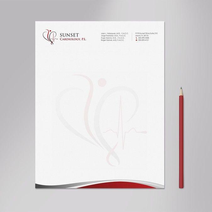 44 best Letterhead images on Pinterest Stationery design - professional letterhead