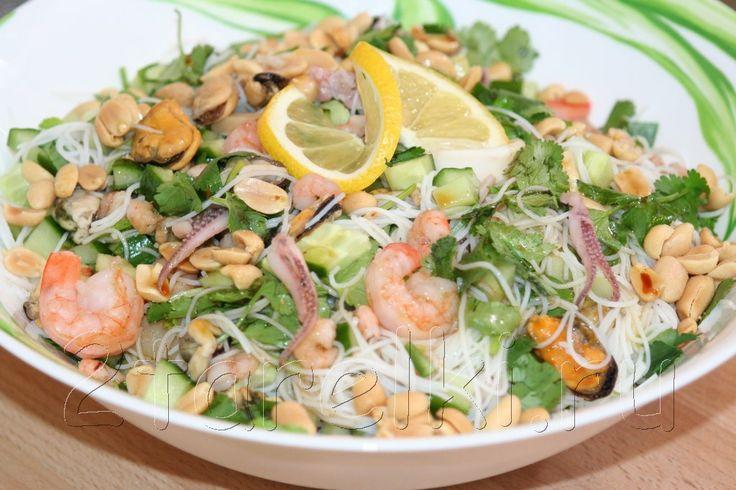 Соусы для салатов с морепродуктами без майонеза