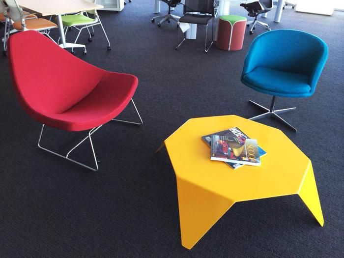 Ori | UCI Table.  Taking its name from the Japanese word 'ori', meaning 'fold', the table is constructed from one piece of folded aluminium. uci.com.au