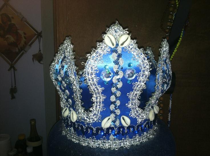 Handmade Crown For Yemaya Orisha Fashion And Beadery