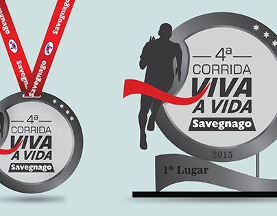 Medalha e Trofeu - Corrida Savegnago