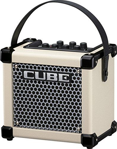 Roland Micro Cube GX 3W 1x5 Battery Powered Guitar Combo Amp White -- Click image to review more details.Note:It is affiliate link to Amazon.