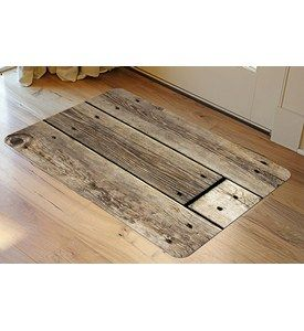 Cushioning Hard Working Feet Can Be Stylish And Functional. The Padded Floor  Mat With Rustic
