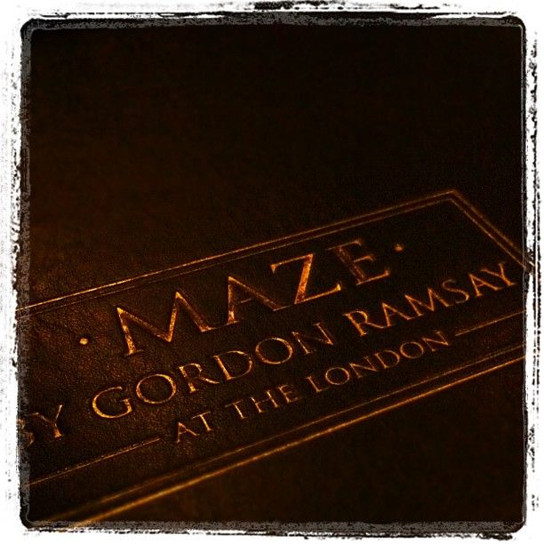 Eat at MAZE by Gordon Ramsay in NYC