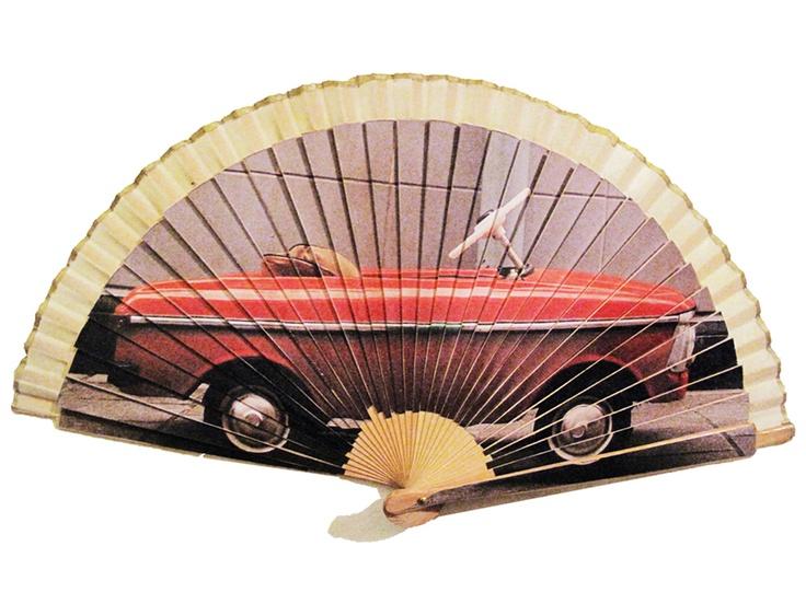 Printed fan.