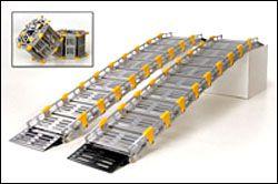 Roll-A-Ramp Portable Wheelchair Ramp - Accessible Construction