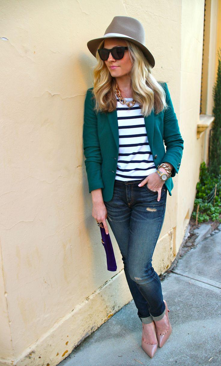 Best 25  Colored blazer ideas on Pinterest   Orange blazer outfits ...