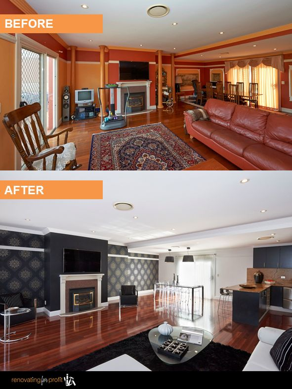 See More Amazing Renovations By Cherie Barber At:  Www.renovatingforprofit.com.au Part 94