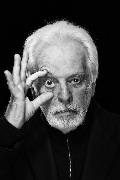 Alejandro Jodorowsky (1929) - Chilean-French comics writer, filmmaker, playwright, actor, author, musician, and spiritual guru.